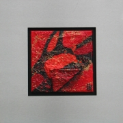 F10143, 20 x 20 cm, lijst 40 x 40 cm